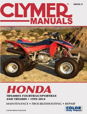 Honda TRX400EX FourTrax/SportTrax & TRX400X (1999-2014) Service Repair Manual