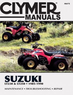 Suzuki LT230 & LT250 ATV (1985-1990) Service Repair Manual