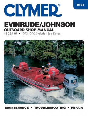 Evinrude Johnson 48-235 HP Outboards-Includes Sea Drives (1973-1990) Service Repair Manual Online Manual
