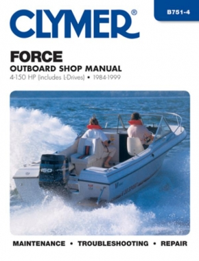 Force 4-150 HP Outboards Includes L Drives (1984-1999) Service Repair Manual