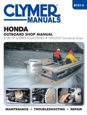 Honda 2-130 HP 4-Stroke Outboards Includes Jet Drives (1976-2005) Service Repair Manual Online Manual