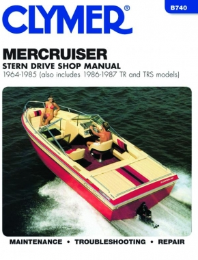 Mercruiser Stern Drives (1964-1985) With TR & TRS (1986-1987) Service Repair Manual