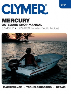 Mercury 3.5-40 HP Outboards Includes Electric Motors (1972-1989) Service Repair Manual