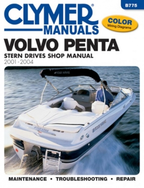 Volvo Penta Stern Drives (2001-2004) Service Repair Manual