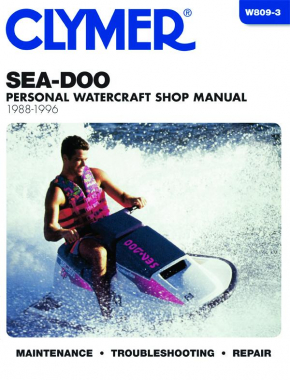 Sea Doo Personal Watercraft (1988-1996) Service Repair Manual Online Manual