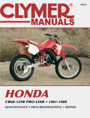 Honda CR60-125R Pro-Link Motorcycle (1981-1988) Service Repair Manual