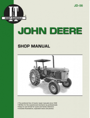 John Deere Model 2840-2950 Tractor Service Repair Manual