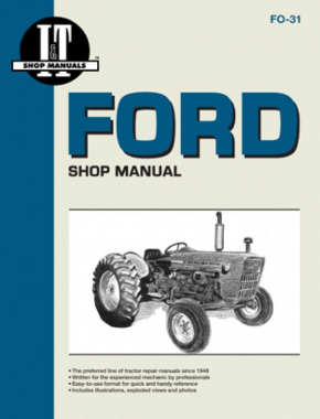 Ford New Holland Model 2000-4200 Tractor Service Repair Manual