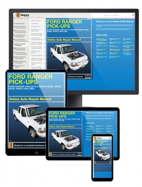 Ford Ranger (93-11) and Mazda B2300/B2500/B3000/B4000 (94-09) Haynes Online Manual