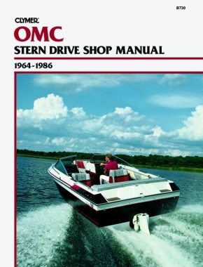 OMC Stern Drive (1964-1986) Service Repair Manual