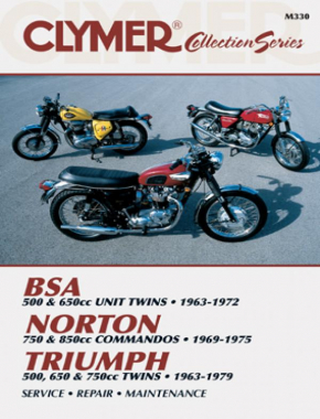 BSA Twin - Norton Commandos - Triumph Twins Motorcycle (1963-1979) Service Repair Manual
