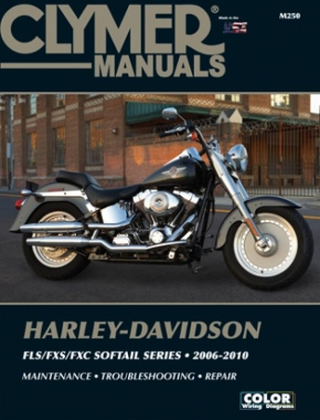 Harley-Davidson Softail FLS/FXS/FXC Motorcycle (2006-2010) Service Repair Manual