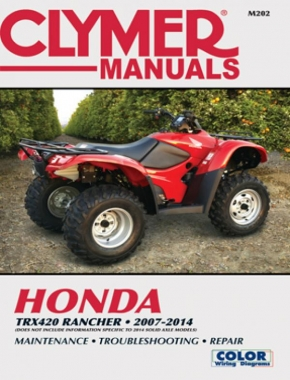 Honda TRX420 Rancher ATV (2007-2014) Service Repair Manual