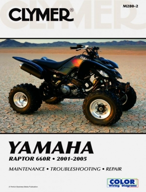 Yamaha YFM660R Raptor 660R ATV (2001-2005) Service Repair Manual