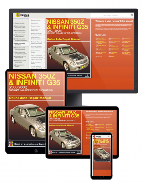 Nissan 350Z and Infiniti G35 (03-08) Haynes Online Manual