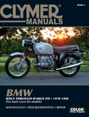 BMW Airhead R50/5 through R100GS PD (1970-1996) Service Repair Manual
