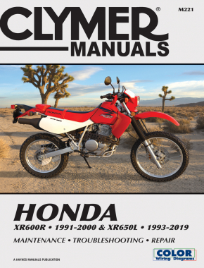 Honda XR600R (1991-2000) XR650L (1993-2019) Service and Repair Manual