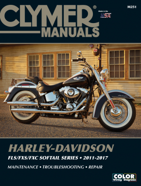 Harley-Davidson FLS/FXS/FXC Softail Series (2011-2017) Clymer Repair Manual