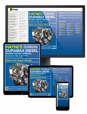 Duramax Diesel Engine for Chevrolet & GMC Trucks and Vans (01-19) Haynes Online Techbook
