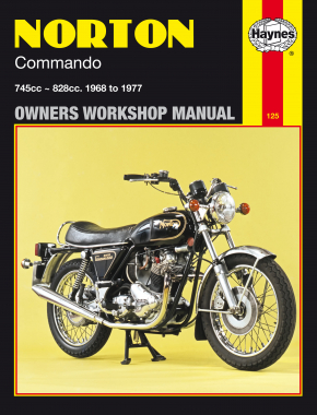 Norton Commando 745cc and 828cc models (68-77) Haynes Repair Manual