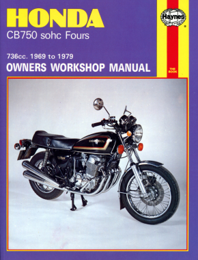 Honda CB750 sohc Fours (69-79) Haynes Repair Manual