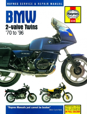 BMW 2-valve Twins (70-96) Haynes Repair Manual