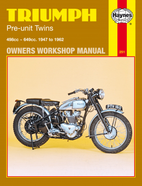 Triumph Pre-unit Twins 500 and 650 cc models (47-62) Haynes Repair Manual