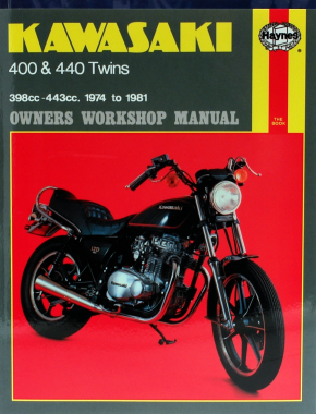 Kawasaki 400 and 440 twins (74-81) Haynes Repair Manual