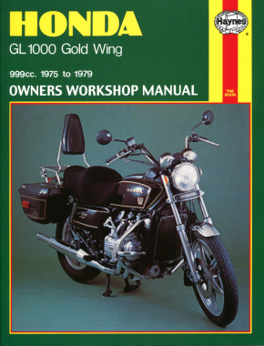 Honda GL1000 Gold Wing (75-79) Haynes Repair Manual