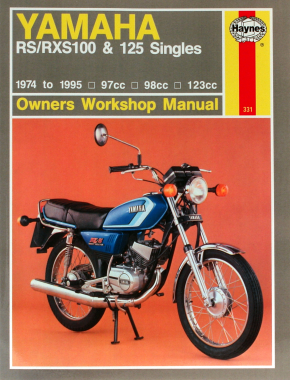 Yamaha RS/RXS100 & 125 Singles 97cc, 98cc & 123cc models (74-95) Haynes Repair Manual