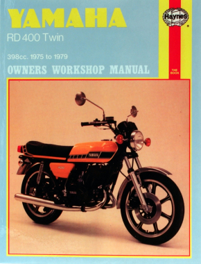 Yamaha RD400 Twins 398cc (75-79) Haynes Repair Manual