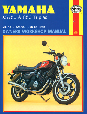 Yamaha XS750 & XS850 Triples 747cc & 826cc (76-81) Haynes Repair Manual