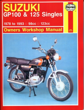 Suzuki GP100 & 125 Singles (78-93) Haynes Repair Manual