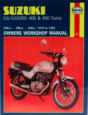 Suzuki GS250/GSX250 & GSX400 Twins (80-85) & GS450 Twins (79-85) Haynes Repair Manual
