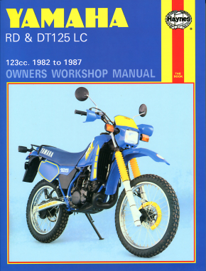 Yamaha RD & DT125 LC (82-87) Haynes Repair Manual