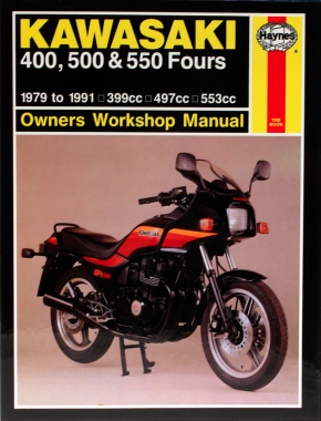 Kawasaki KZ550 Fours (80-84) & ZX550 Fours (84-85) Haynes Repair Manual