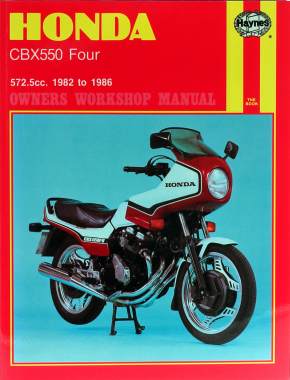 Honda CBX550 Fours (82-86) Haynes Repair Manual