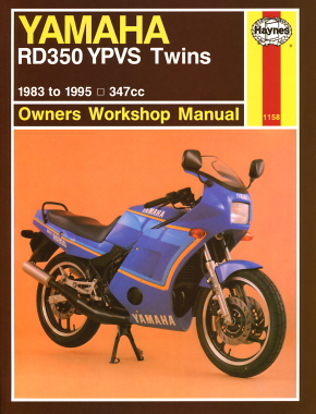 Yamaha RD350 YPVS Twins 347cc models (83-95) Haynes Repair Manual