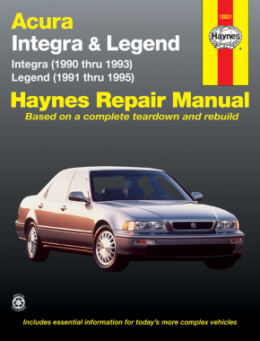 acura integra 90 93 legend 91 95 haynes repair manual haynes rh haynes com 1993 acura legend service manual 1994 acura integra service manual