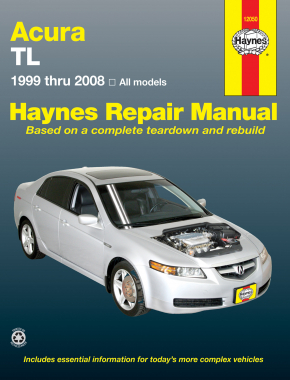 Acura TL for TL models (99-08) Haynes Repair Manual