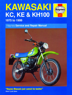 Kawasaki KE100A (75-81) & KE100B (81-99) Haynes Repair Manual