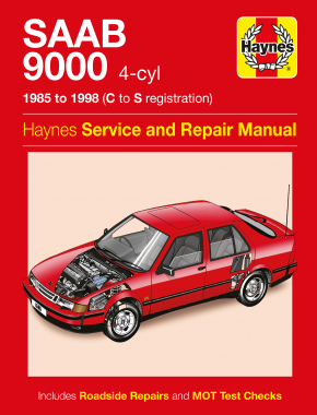 Saab 9000 (4-cyl) (85 - 98) Haynes Repair Manual