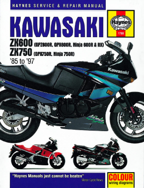 Kawasaki ZX600 & 750 Ninjas (85-97) Haynes Repair Manual