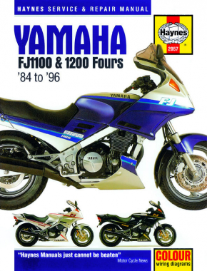 Yamaha FJ1100 (84-85), FJ1200 (86-92) & FJ1200A (92-93) Haynes Repair Manual