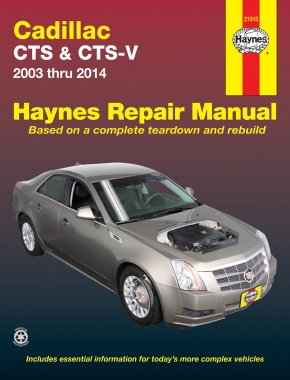 Cadillac CTS and CTS-V (03-14)  Haynes Repair Manual (USA)