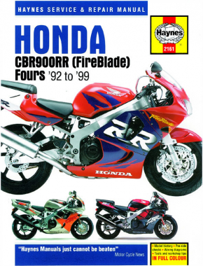Honda CBR900RR Fireblade (92-99) Haynes Repair Manual