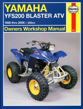 Yamaha YFS200 Blaster 200cc ATVS (88-06) Haynes Repair Manual