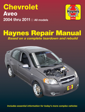 chevrolet aveo 04 11 haynes repair manual haynes manuals rh haynes com Aveo Car 2015 2009 chevy aveo car manual