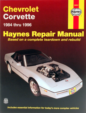 chevrolet corvette 84 96 haynes repair manual haynes manuals rh haynes com 86 Corvette 1984 corvette service manual download