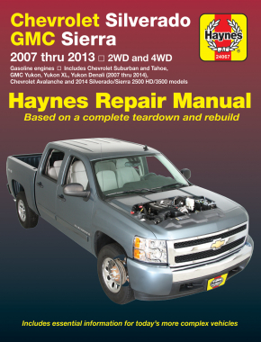 chevrolet silverado gmc sierra sierra denali 1500 models 07 13 rh haynes com 2008 chevrolet silverado 1500 repair manual 2008 chevy silverado parts manual